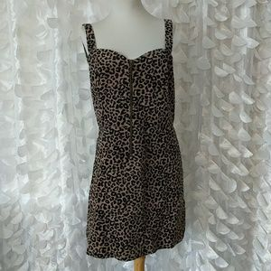 Cheeta corduroy dress
